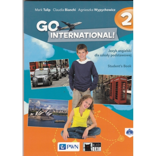 Go International! 2 Student's Book + 2 CD NOWY