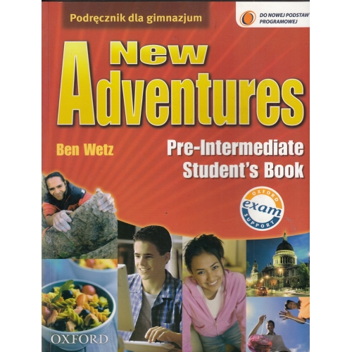 New Adventures Elementary Workbook + CD NOWY
